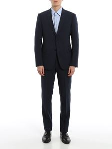 Emporio Armani - Prince of Wales suit in blue