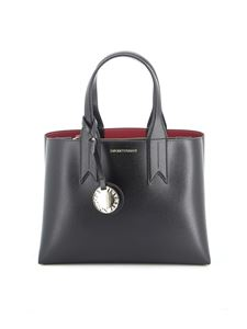 Emporio Armani - Black Mini Dollaro tote bag in black