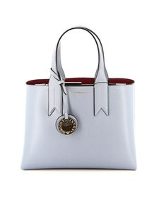 Emporio Armani - Mini Dollaro tote bag in light blue