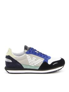 Emporio Armani - Multicolour runner sneakers