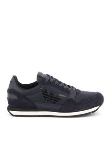 Emporio Armani - Dark blue runner sneakers