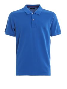 Fay - Cotton pique polo shirt