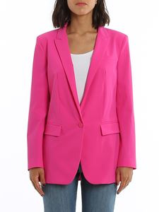 Dondup - Stretch fabric single-breasted blazer