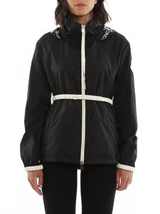 Moncler - Pomme hooded windbreaker in black
