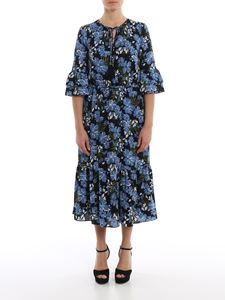 Michael Kors - Floral printed crepe dress