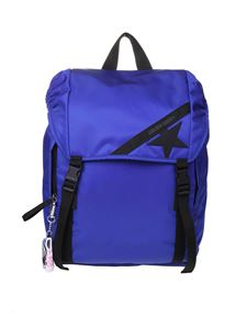 Golden Goose - Journey backpack in blue