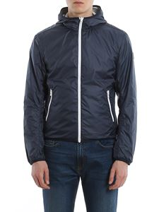 Colmar Originals - Nylon reversible hooded jacket in blue
