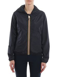 K-way - Lily Double Drops jacket in blue
