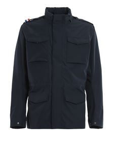 K-way - Manfield Bonded field jacket in blue