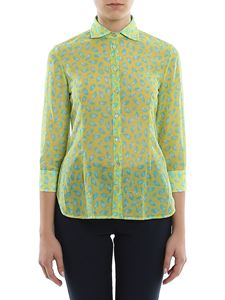 Barba - Printed shirt in green