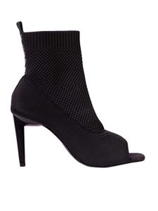 Kendall + Kylie - Ziko ankle pumps in black