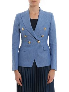 Tagliatore - Alicia blazer in light blue