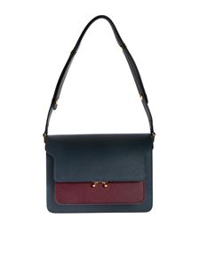 Marni - Borsa Trunk Bag blu
