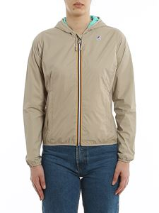 K-way - Lily Plus Double jacket in Beige Green Light Pool color