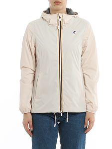 K-way - Marguerite Poly Jersey windbreaker in Pink Light color