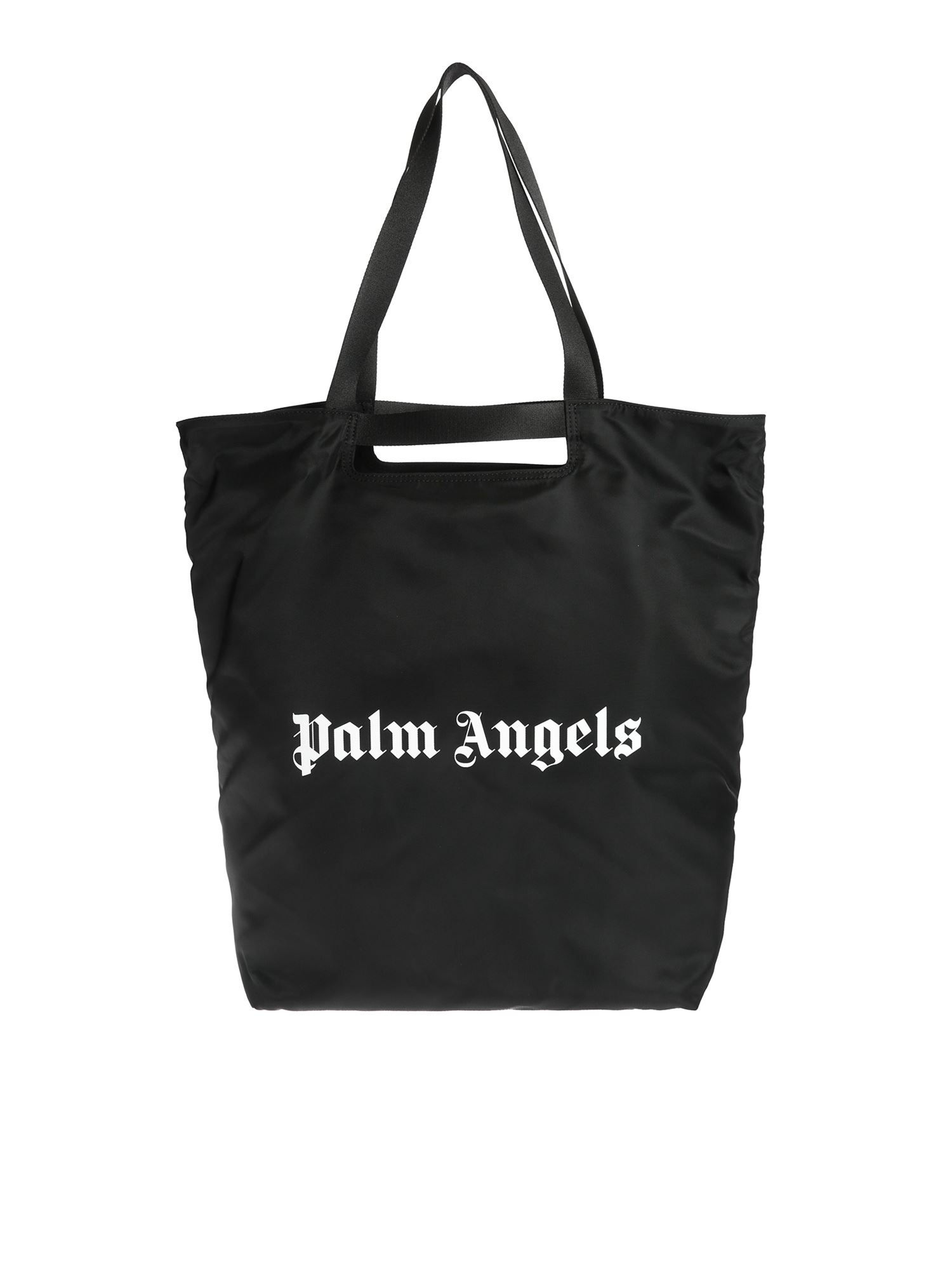Palm Angels LOGO TOTE BAG IN BLACK