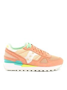 Saucony - Shadow peach sneakers