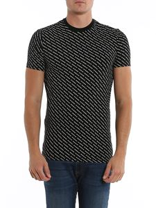 Dsquared2 - Slant logo T-shirt in black