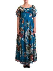 Red Valentino - Fiori Sinuosi printed voile dress