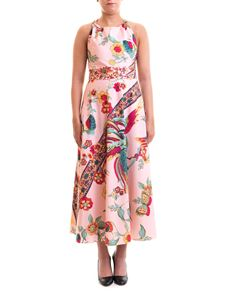 Red Valentino - Floral cotton long dress