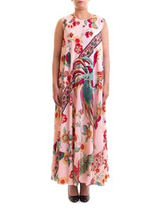 Red Valentino - Bird of Paradise in the Forest print dress