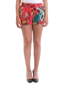 Red Valentino - Printed silk shorts