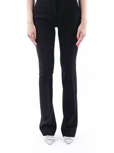 Moschino - Black flared pants in black