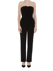 Moschino - Sweetheart neckline jumpsuit in black