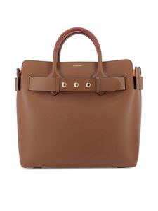 Burberry - The Belt M leather tote bag