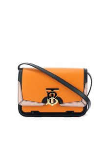 Burberry - Tb small leather cross body bag