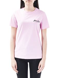 Moschino - Logo Signature t-shirt in pink