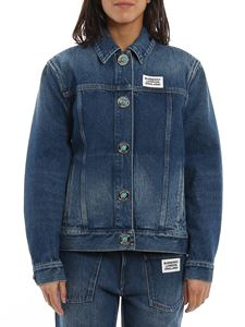 Burberry - Yvonne denim jacket in blue