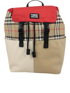 Burberry - Hayden Vintage Check nylon backpack