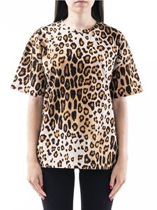 Etro - Leopard print T-shirt in brown