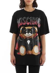 Moschino - Masked Teddy Bear over t-shirt in black