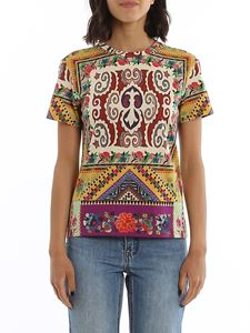 Etro - Printed cotton jersey T-shirt