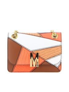 Moschino - M Patchwork cross body bag