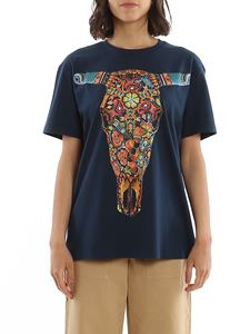 Etro - Hand painted cotton T-shirt