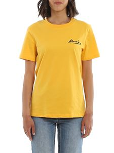 Moschino - Logo Signature t-shirt in yellow