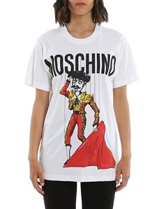 Moschino - Matador Puppet t-shirt in white