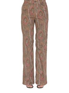 Etro - Paisley patterned jeans