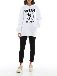Moschino - Double Question Mark in white
