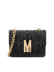 Moschino - Logo cross body in black