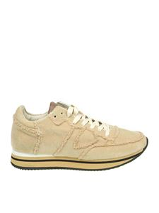Philippe Model - Sneaker Tropez in velluto beige