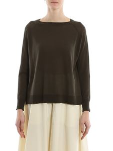 Aspesi - Raglan sleeves pullover in green