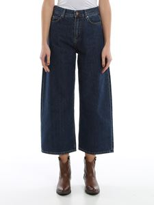 Aspesi - Cropped jeans in blue