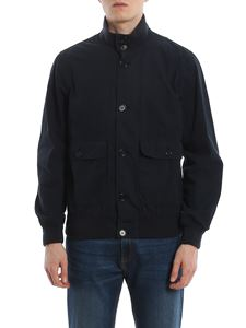 Aspesi - Astor cotton jacket in blue