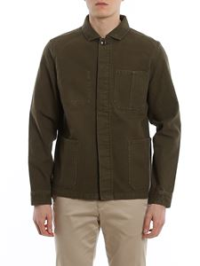 Barbour - Duncansea denim jacket in green
