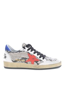 Golden Goose - Sneakers Ball Star stampa rettile
