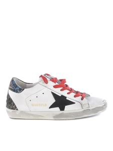 Golden Goose - Sneakers Superstar bianche e nere